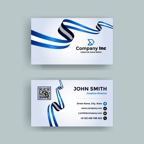 Blue Flag Business Card
