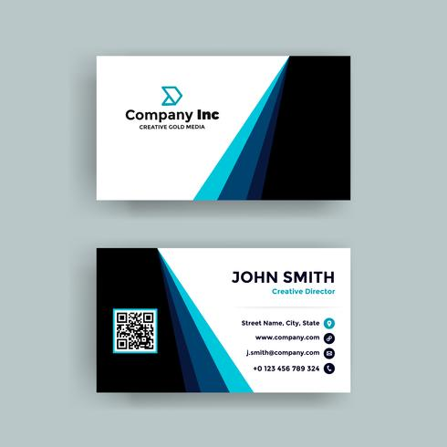 Blue Line Business Card
