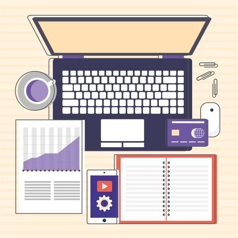 Elementos de diseño de sitio web de vector