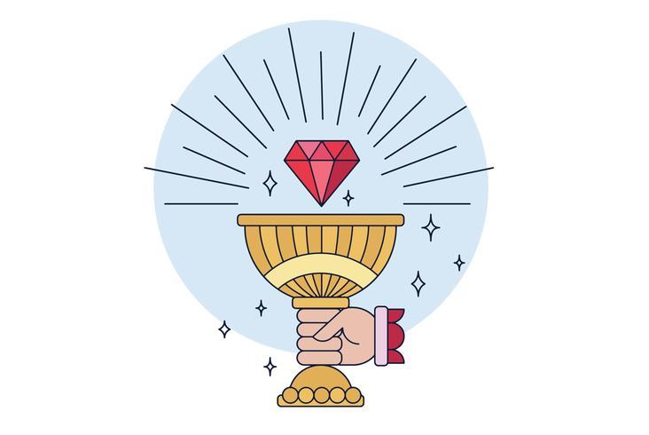 Cup Graal Vector