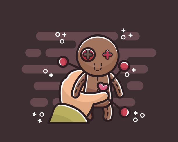 voodoo-pop vector