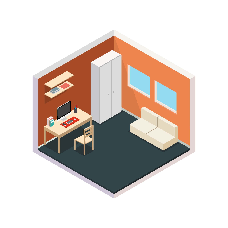 предлагаем картинка комнаты иконка книгу