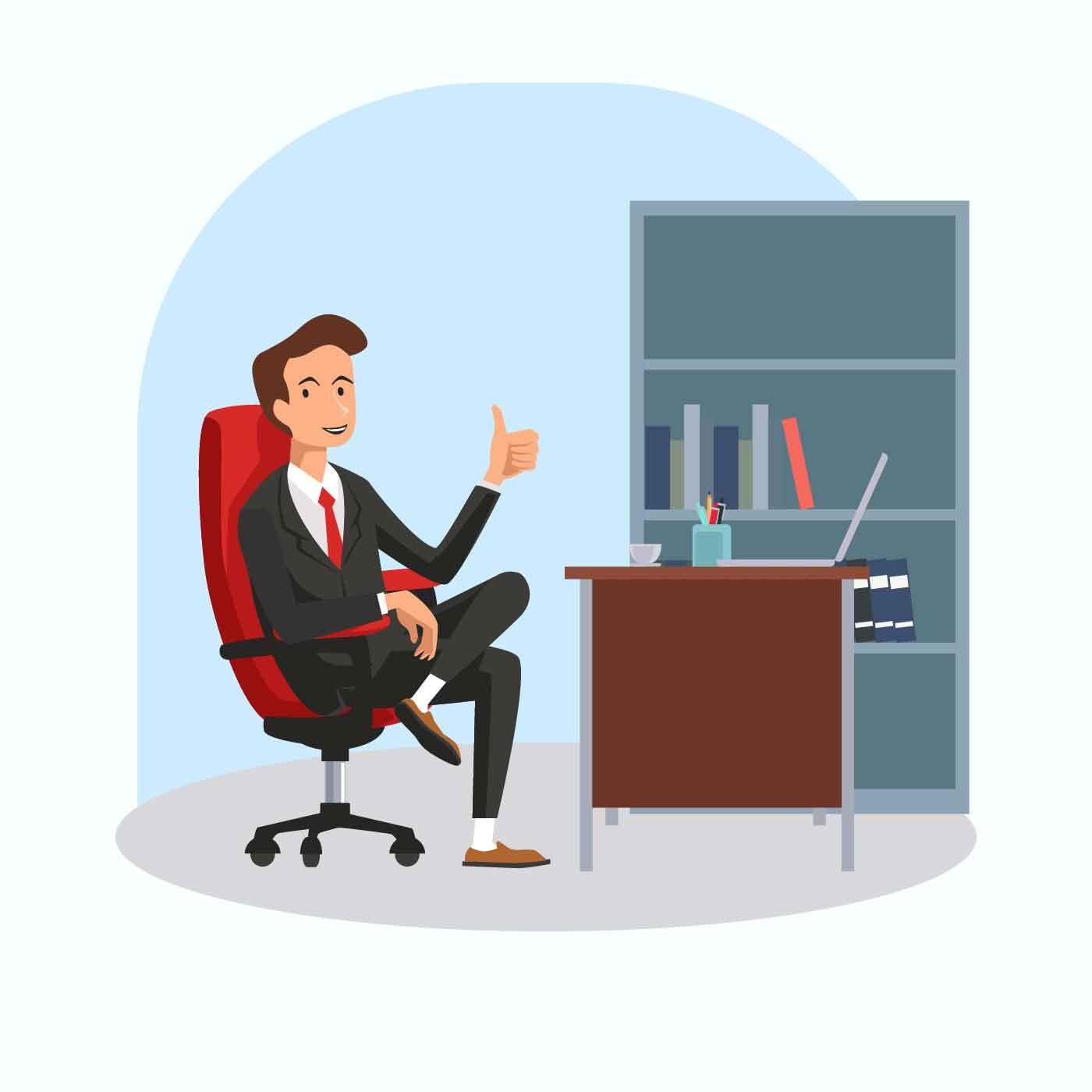 Boss Vector Illustration Download Free Vector Art Stock