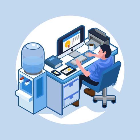 Isometric Workspace vector