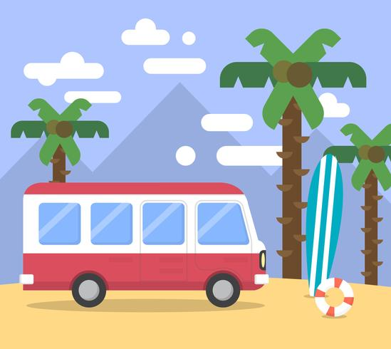 Van de plage