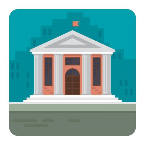 Town Hall vector