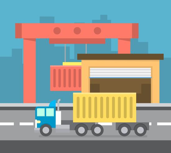 Container Loading - Download Free Vectors, Clipart Graphics