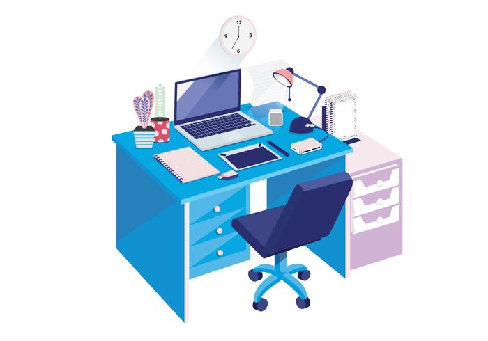Isometric Workspace Vol 3 Vector
