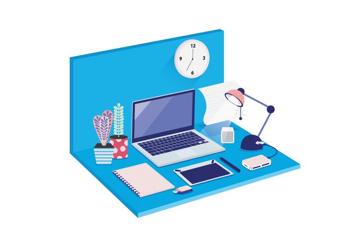 Isometric Workspace Vol 2 Vector