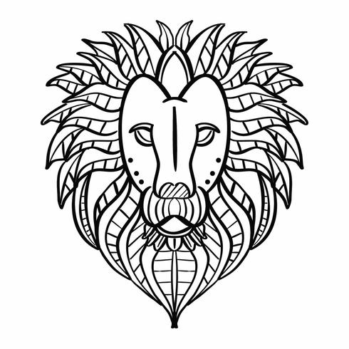 Lion Coloring Page