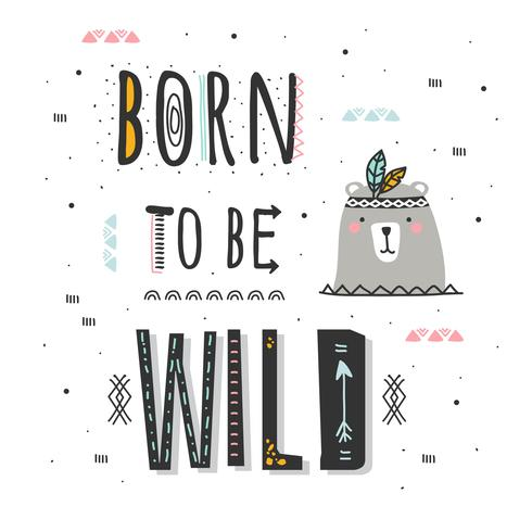 Geboren, wilder Vektor zu sein