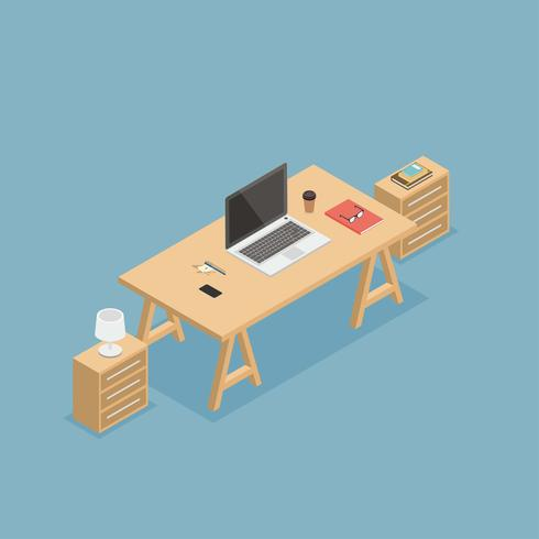 Workspace Isometric