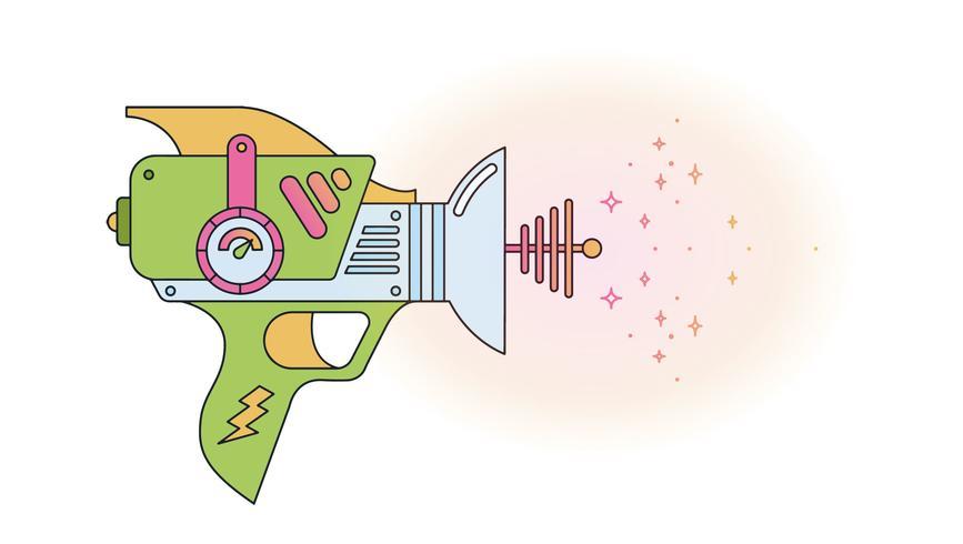 Vettore di arma protonica