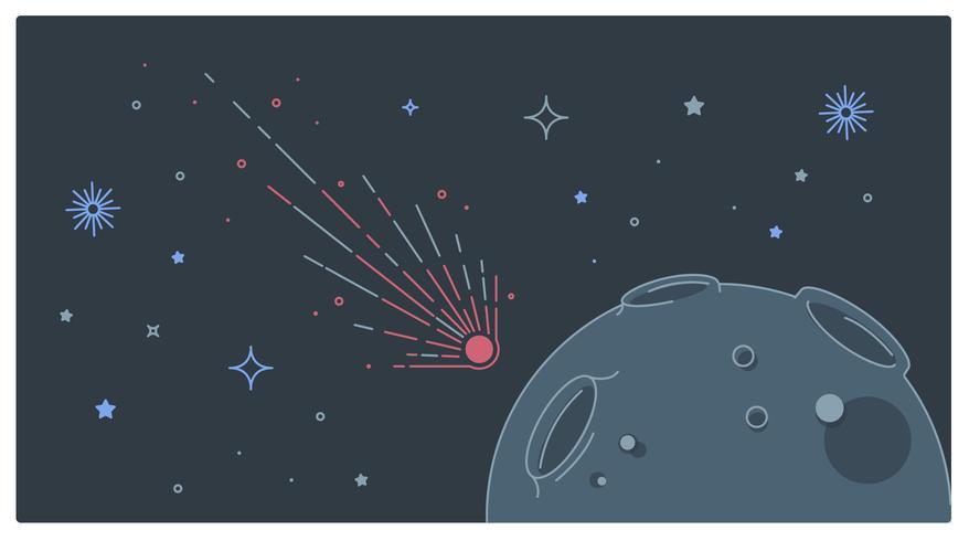 Vecteur de lune