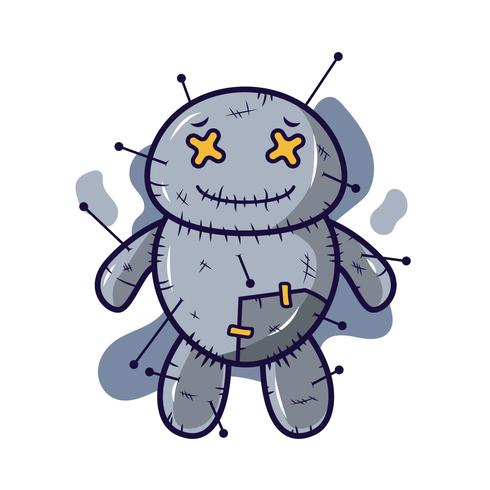 voodoo docka vektor
