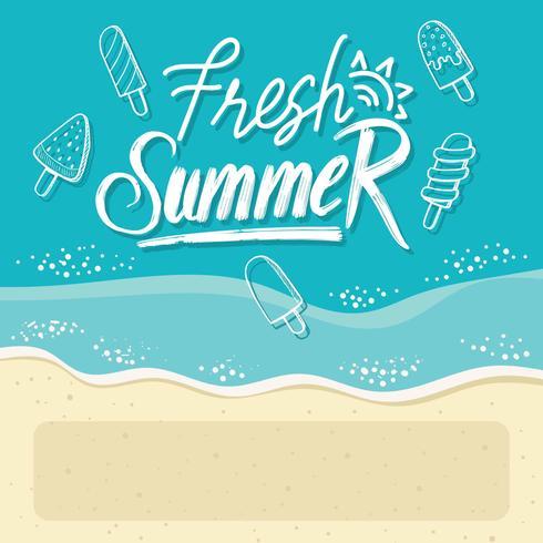 Picolés de verão