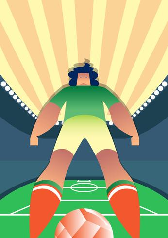 Coupe du monde de football du Mexique Vector Illustration