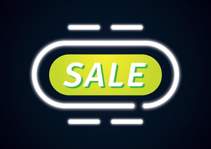 Glowing Banner Sale