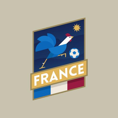 Insignias de fútbol de la Copa Mundial de Francia
