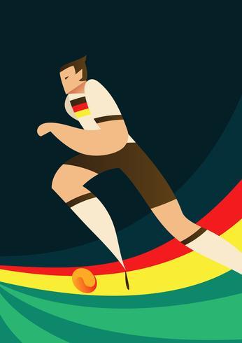 Joueurs de football de la Coupe du monde Allemagne