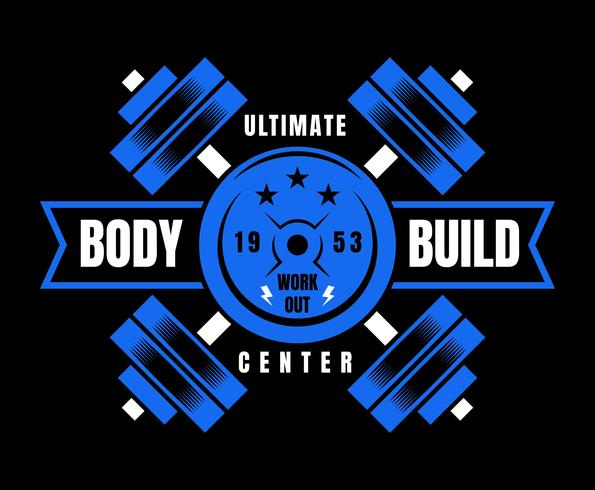 Vetores proeminentes do Bodybuilder