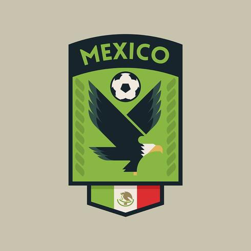 mexico world cup soccer badges