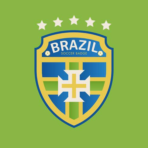 Brazilië World Cup Soccer Badges