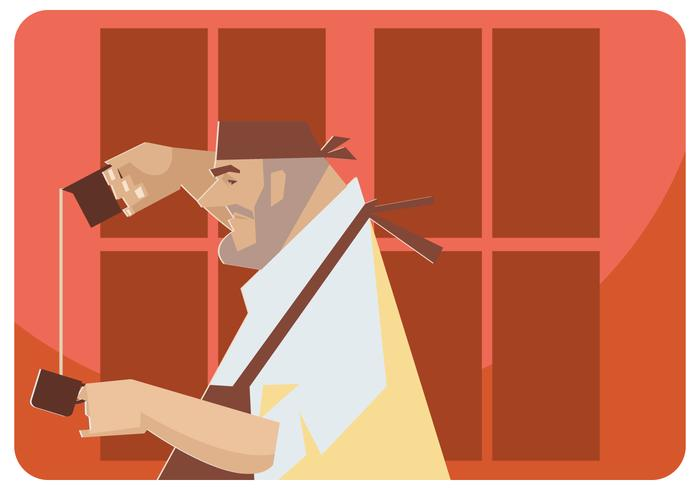 Coffee Master Vector
