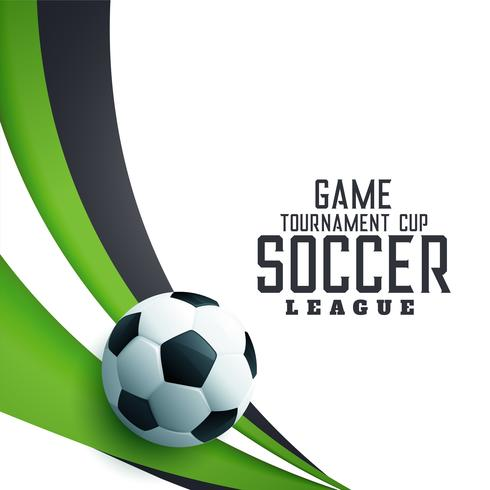 soocer tournament league football background