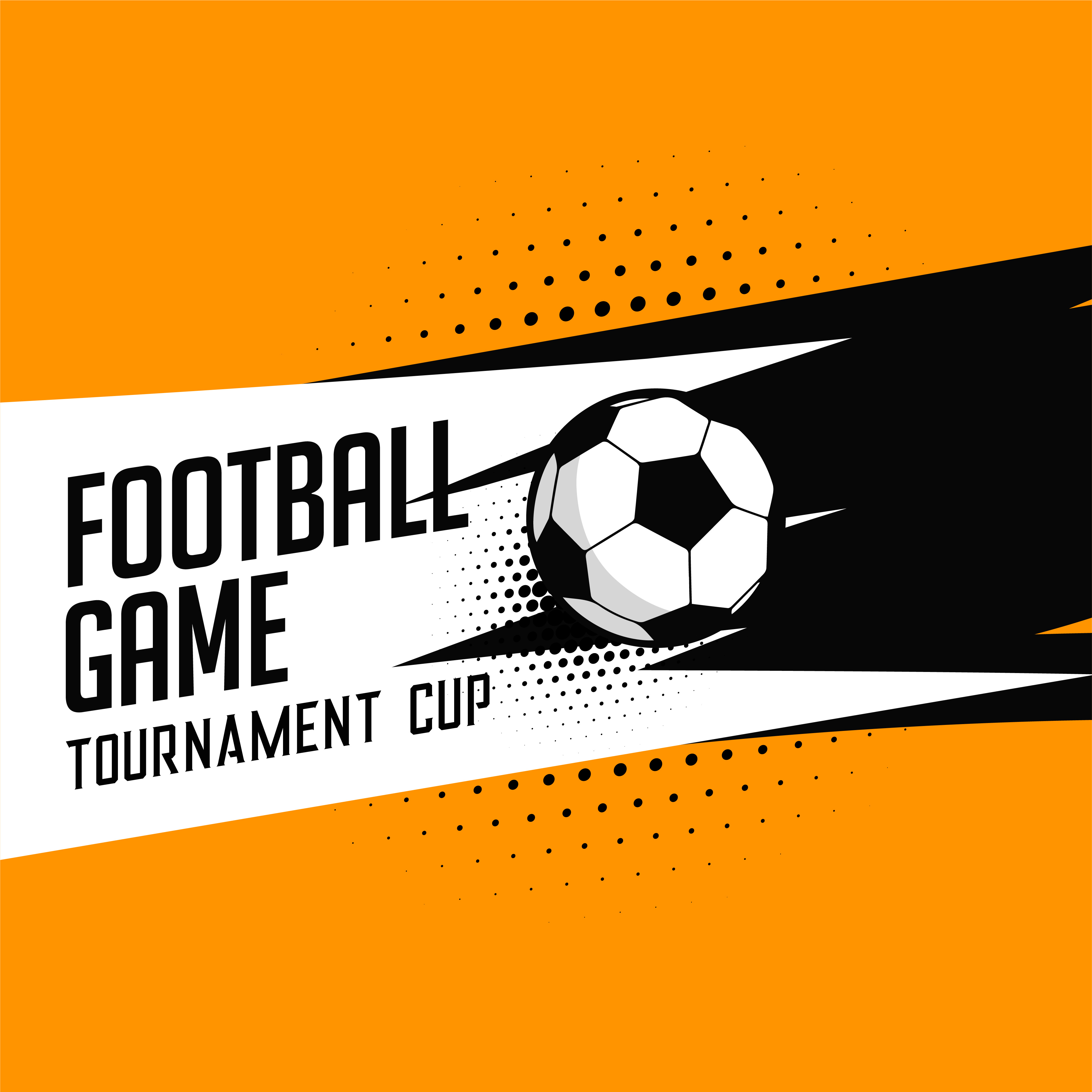 football soccer tournament game vector background