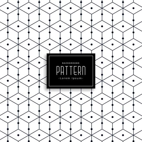 stylish geometric line pattern design