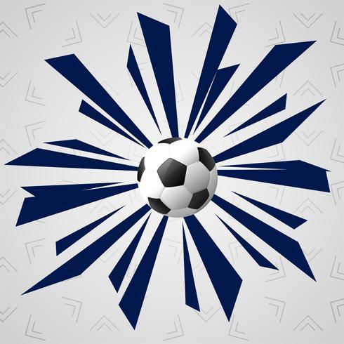abstrakter Fußball sports Spielhintergrund