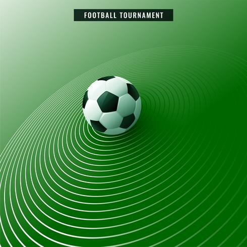 stylish green soccer football background