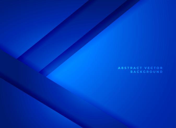 blauwe geometrische abstracte achtergrond vector