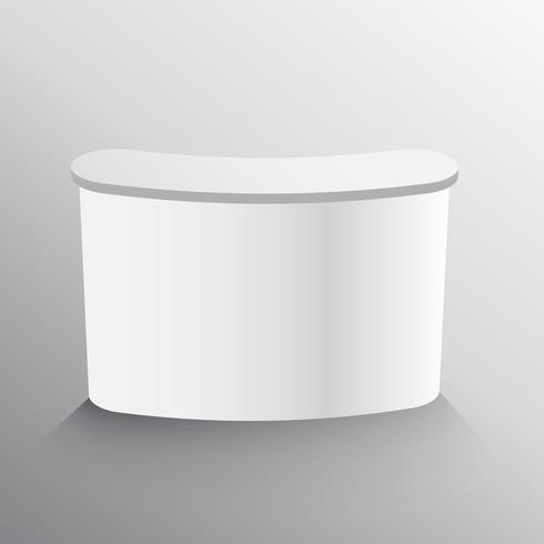 design de modelo de mockup de tabela de exibição
