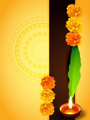 traditional diwali design