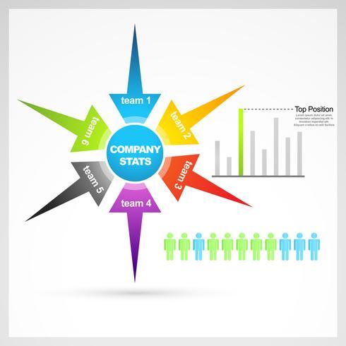 elementos de negocio vector