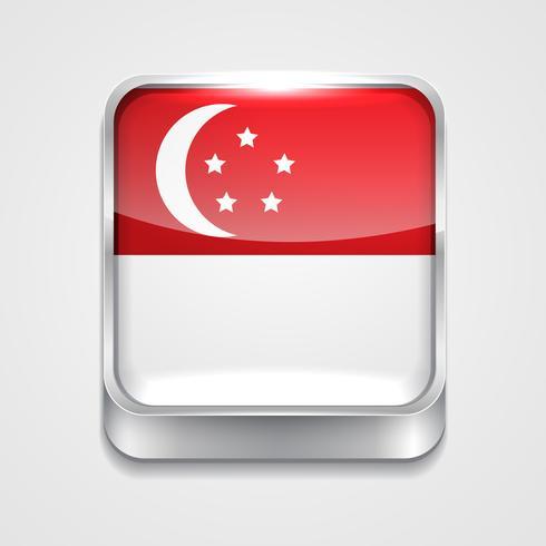 Flagge von Singapur