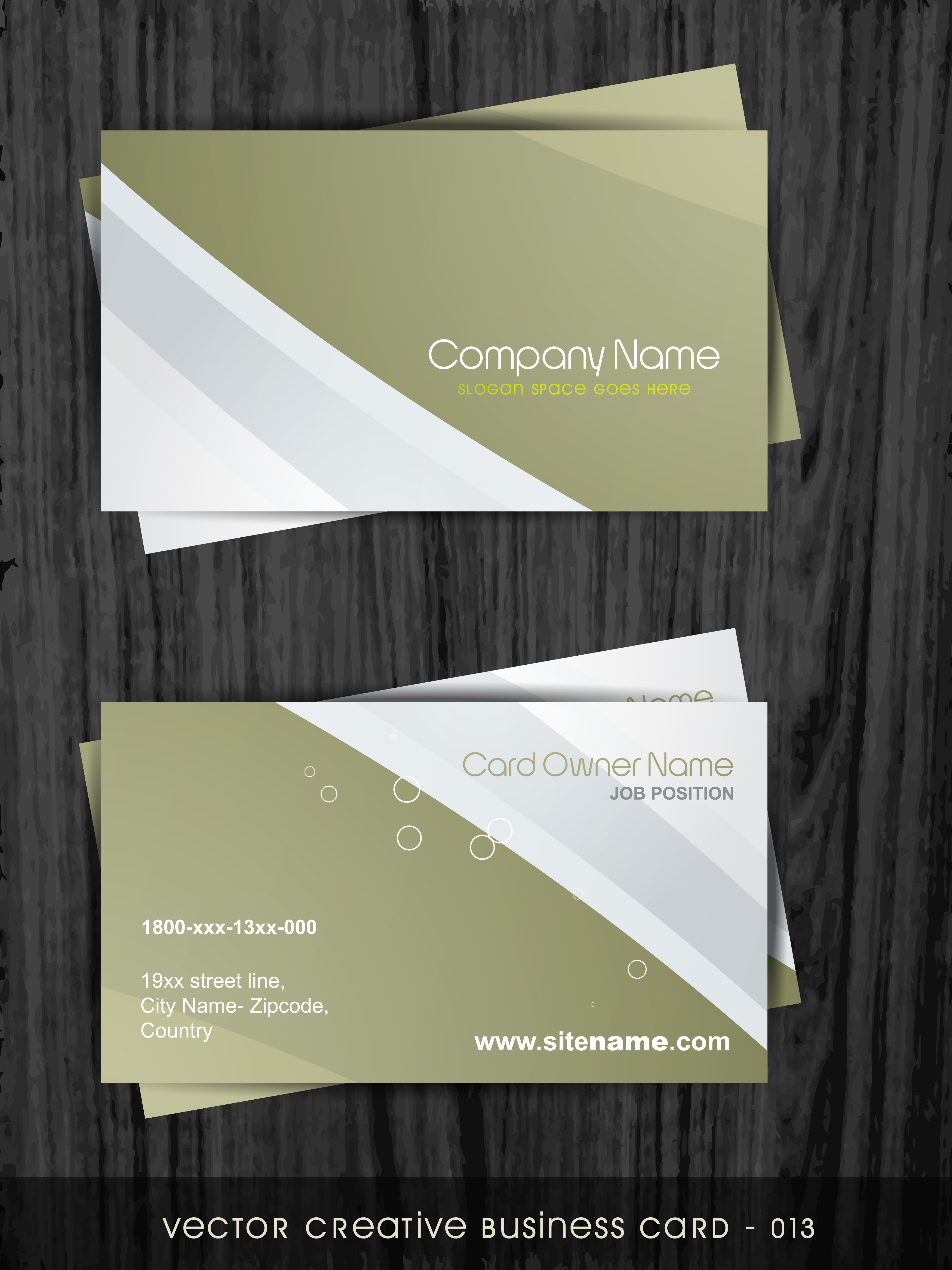 Free vector business card templates 34542 free downloads reheart Choice Image