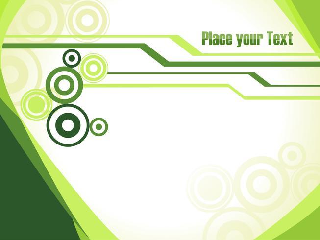 Vetor de tecnologia verde