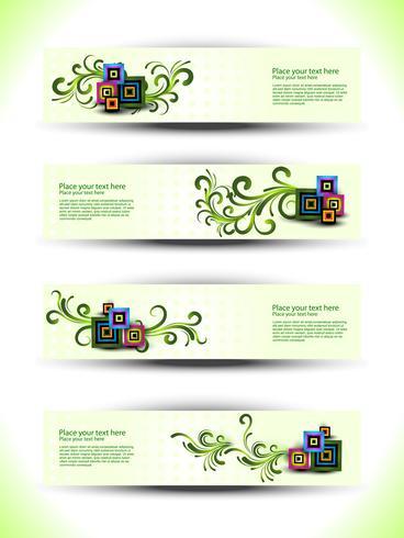 vector floral set