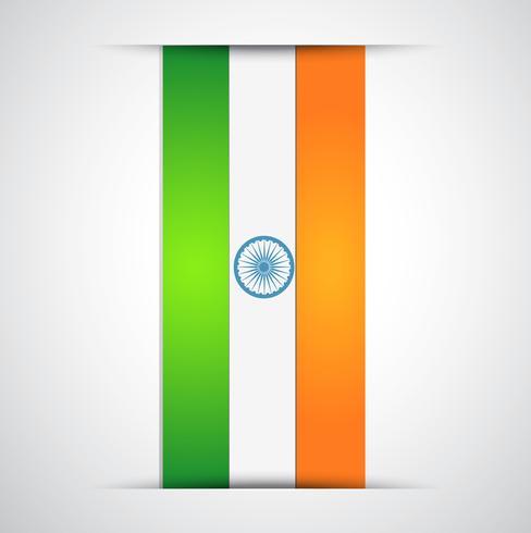 projeto da bandeira indiana