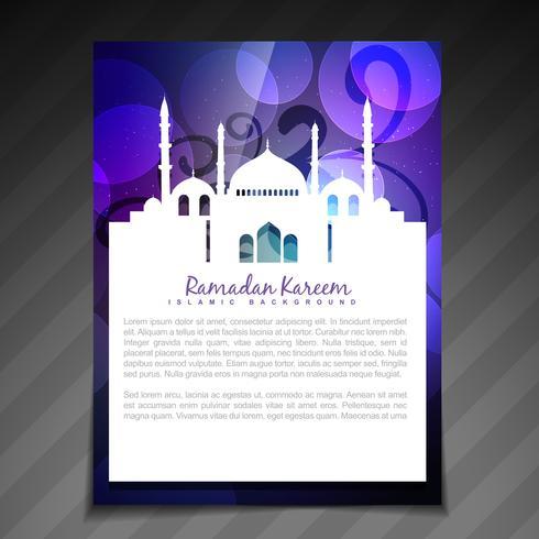 ramadan brochure background