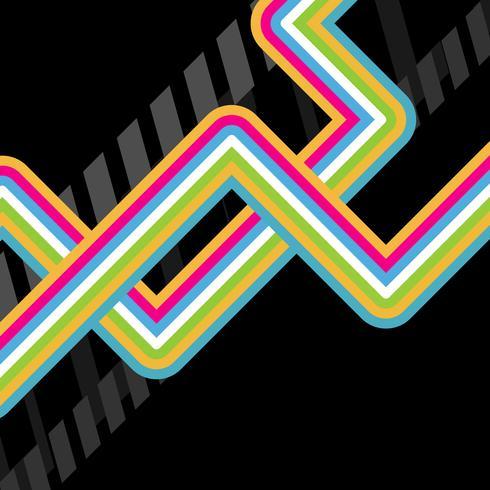abstrakte Vektor-Disco-Kunst