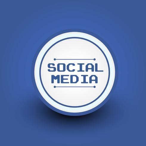 badge de médias sociaux