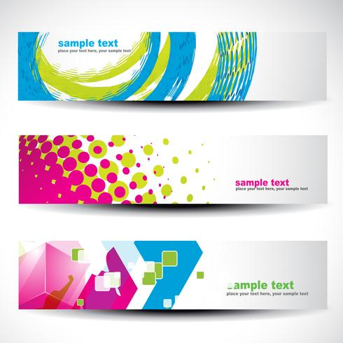 abstracte header set