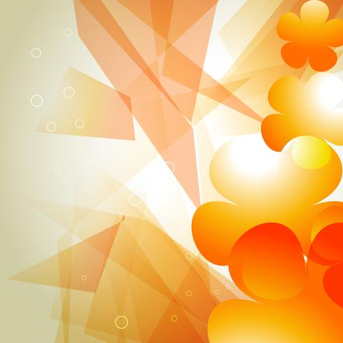 orange color abstract background