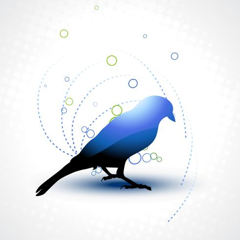 beautiful vector bird