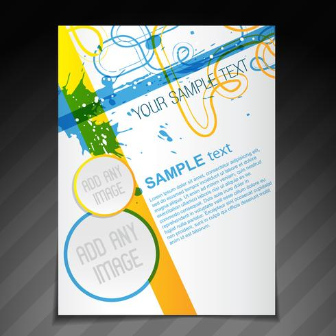 beautiful brochure template