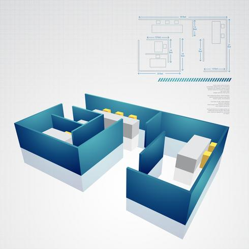 architechural technical drawing